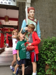 The dangers of traveling in China.